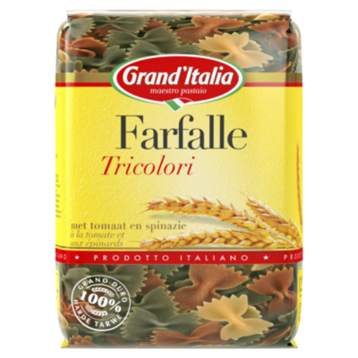 Grand'Italia Farfalle tricolore