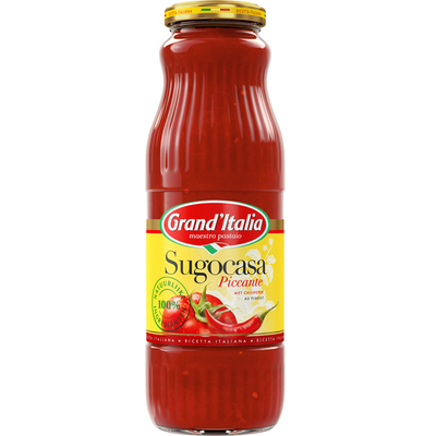 Grand'Italia Sugocasa piccante pastasaus