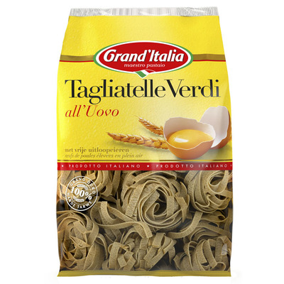 Grand'Italia Tagliatelle verdi all'uovo