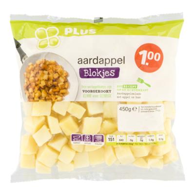 Huismerk Aardappelblokjes