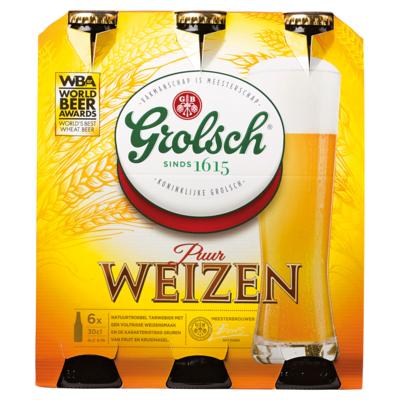 Grolsch Weizen bier 6 x 30cl