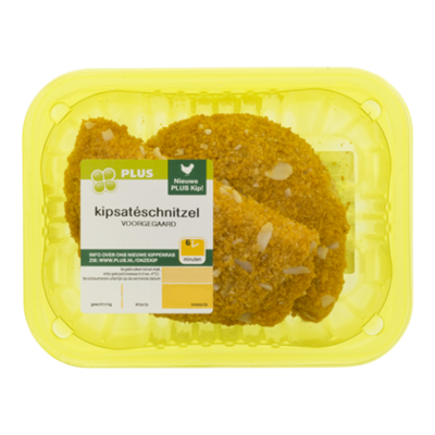 PLUS Kipsateschnitzel