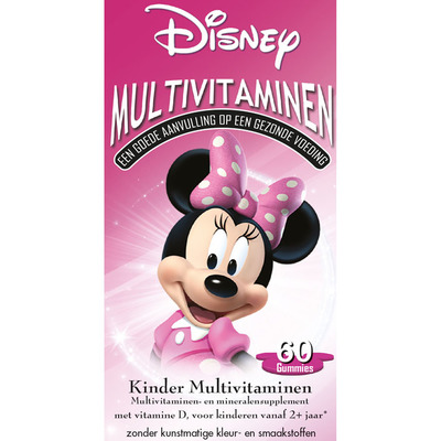 Disney Kinder multivitaminen Minnie Mouse