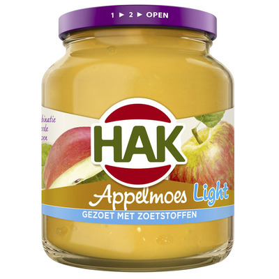 Hak Appelmoes light