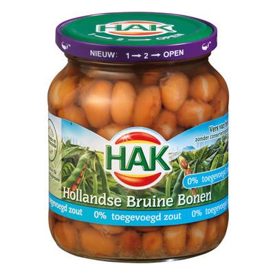 Hak Hollandse bruine bonen 0% zout