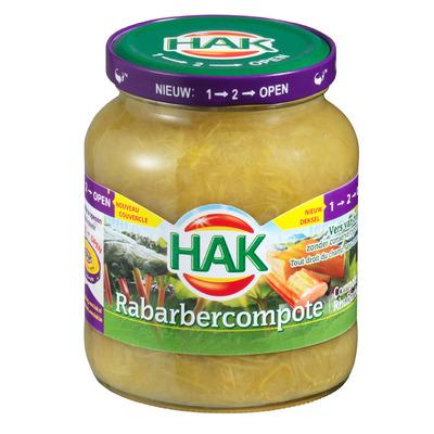 Hak Rabarbercompote 1-2 open