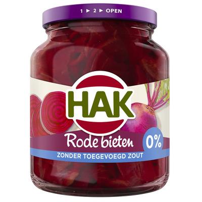 Hak Rode bieten schijven 0% zout