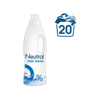 Neutral Wasverzachter Parfumvrij 27 Wasbeurten