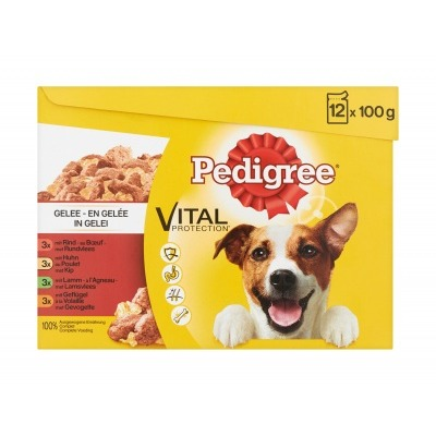 Pedigree Pouch adult favorites