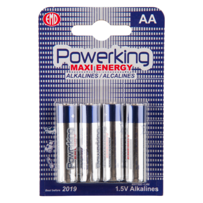Powerking Batterijen maxi energy AA