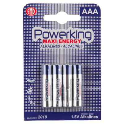 Powerking Batterijen maxi energy AAA