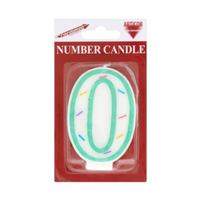 Articor Number Candle