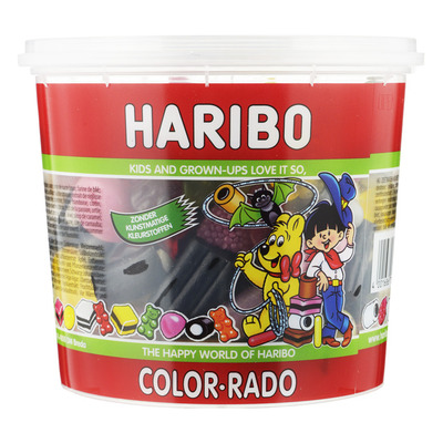 Haribo Color-rado family