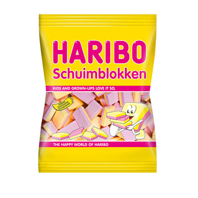 Haribo Schuimblokken