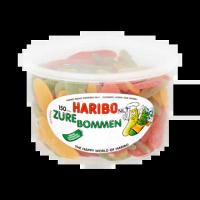 Haribo Zure Bommen 150 Stuks