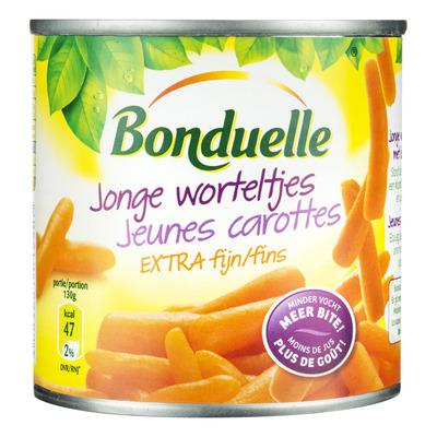 Bonduelle Jonge worteltjes extra fijn