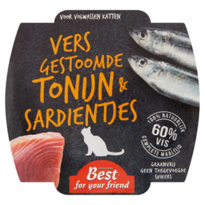 Best For Your Friend Kat tonijn/sardine