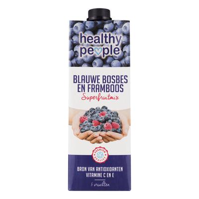 Healthy People Blauwe bosbes-framboos