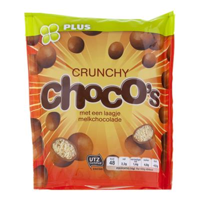 PLUS Choco's crunchy
