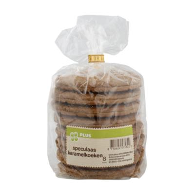 Huismerk Speculaas karamel koek