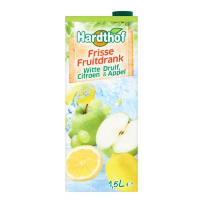 Hardthof Frisse Fruitdrank Witte Druif Citroen & Appel