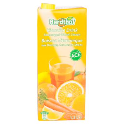 Hardthof Vitaminedrink sinasappel-wortel-citroen