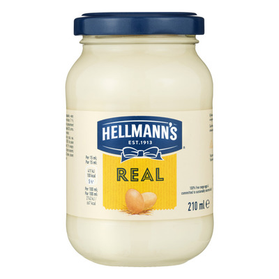 Hellmann's Saus pot real