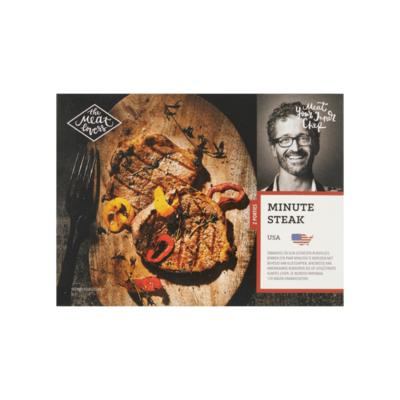 The Meat Lovers Minute Steak USA (Diepvries)