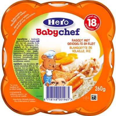 Hero Babychef ragout-gevogelte 18+