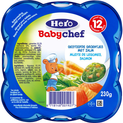 Hero Babychef zalm-groentjes 12+