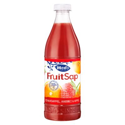 Hero Fruitsap Sinaasappel, Aardbei & Appel