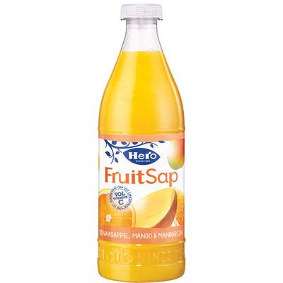 Hero Fruitsap sinaasappel & mango