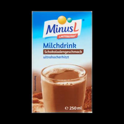 MinusL Lactosevrije Melkdrank Chocoladesmaak UHT