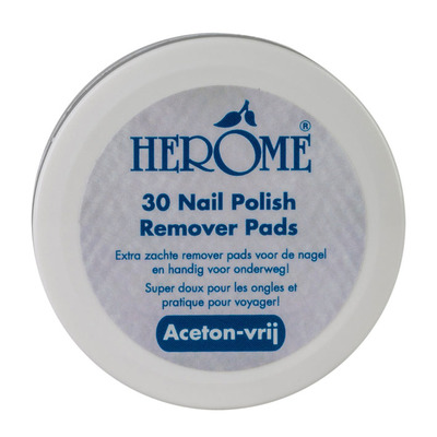 Herôme Caring nail remover pads