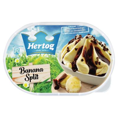 Hertog IJs Banana Split 900 ml