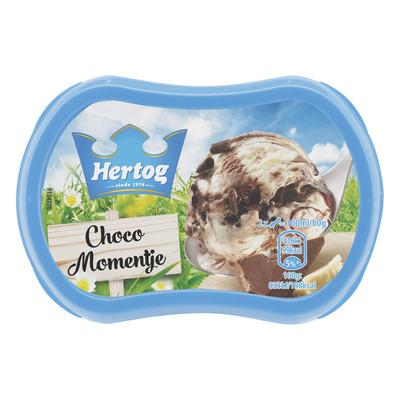 Hertog IJs chocolade momentje