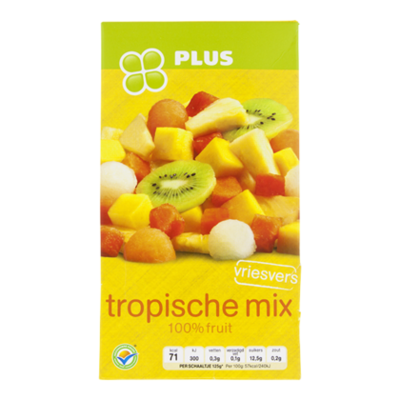 Huismerk Tropische vruchtenmix