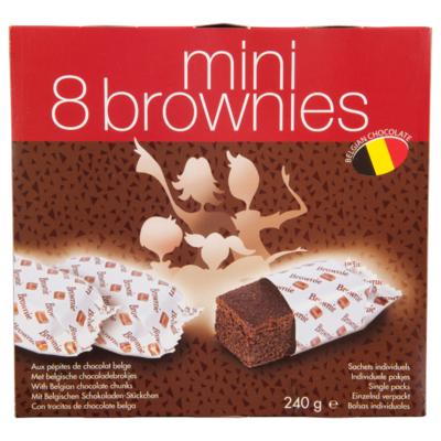 Alysse Mini brownies 8 stuks