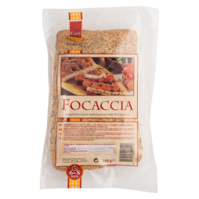 Easy Bakery Focaccia voorgebakken