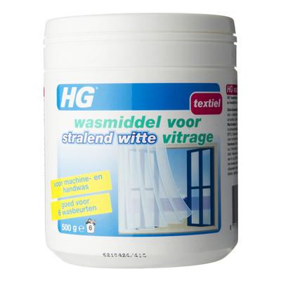 HG Wasmiddel wit vitrage