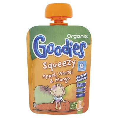 Organix Goodies Appel Wortel En Mango