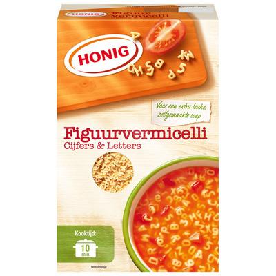 Honig Figuurvermicelli cijfers & letters