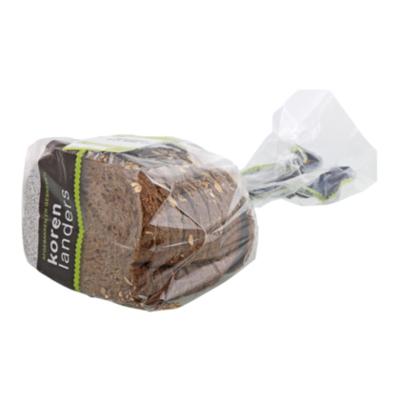 Huismerk KL Vloerbrood extra donker half