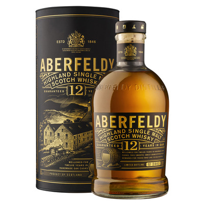 Aberfeldy Single malt Scotch whisky 12 years