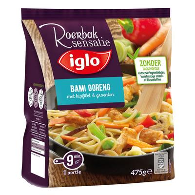 Iglo Roerbaksensatie bami goreng kipfilet