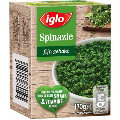 Iglo Gehakte spinazie