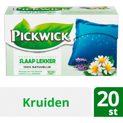 Pickwick Herbal goodness slaap lekker