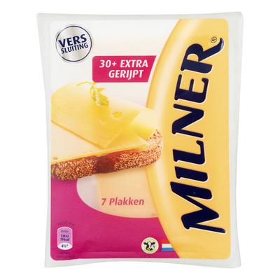 Milner Extra belegen kaas 30+ plakken