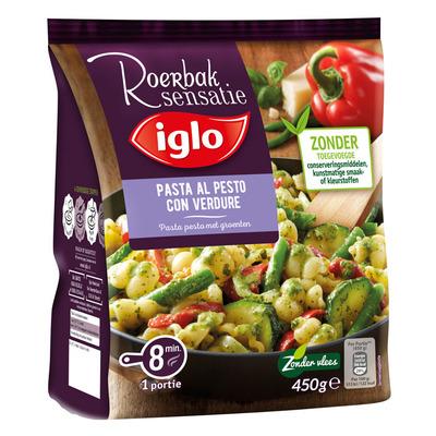 Iglo Maaltijd pasta met pesto