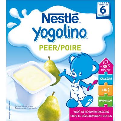 Nestlé Yogolino peer 6mnd
